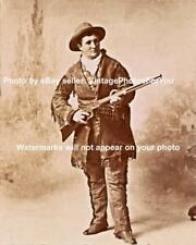 Wild West Scout Performer Prostitute Calamity Jane 1873 Winchester Rifle Photo