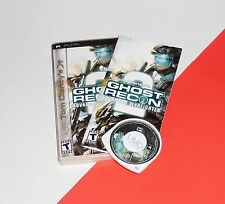 Sony PSP --- GHOST RECON Advanced Warfighter 2 --- Complete UMD Game