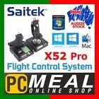 Saitek X52 Pro Flight Control System Stick Throttle PC Mac Gaming Joystick HOTAS