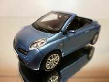 NOREV NISSAN MICRA C+C - LIGHT BLUE METALLIC 1:43 - EXCELLENT CONDITION - 11