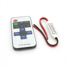 12V Inline RF Wireless Controller Remote Dimmer for Single Color LED Strip Light