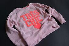 H&M Wunderschönes rosa/aprikt meliertes Sweaty Sweatshirt TRÈS CHIC ❤️ Gr.92