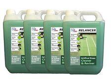 4 x 5L Artificial Grass Cleaner - Anti Bacterial - Fresh Cut Grass Scent