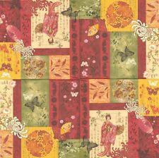 Paquet de 20 Serviettes en papier Asie Geisha Paper Napkins AsiaGeisha