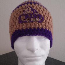 Omega Psi Phi Inspired Handmade Crochet Beanie