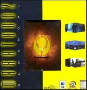 Marathon 2: Durandal MAC CD classic battle aliens creatures shooter game! Bungie