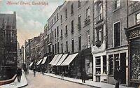 POSTCARD    CAMBRIDGE   Market  Street