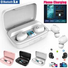 Bluetooth 5.0 Earbuds Wireless Earphones Stereo in-Ear Headphones For Cellphones