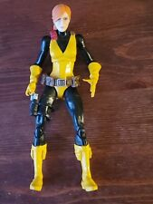 "Custom 6"" SCARLET G.I JOE classifed Action Figure Marvel Legends Snakeeyes cobra"