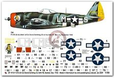 Peddinghaus 1/48 P-47D-25 Thunderbolt Markings David Schilling Boxted 1944 1910