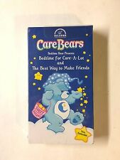 CARE BEARS BEDTIME FOR CARE-A-LOT THE BEST WAY TO MAKE FRIENDS FREE SHIP VHS