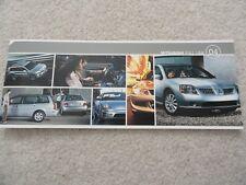 2004 Mitsubishi Lancer / Eclipse / Endeavor / Outlander / Montero Sales Brochure
