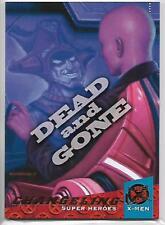 2018 Fleer Ultra X-Men Changeling Dead And Gone Insert Card