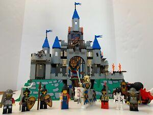 Lego 6098 6091 Knights Kingdom I King Leo's Castle COMPLETE w/ Minifigs & Manual