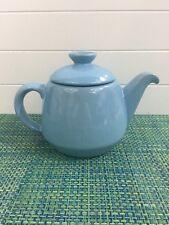 Frankoma Robin Egg Blue Tea Pot 6T Has Some Minor Crazing .
