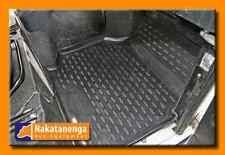 Defender Rubber Floor Mats - Front footwell 90 110 130