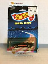 #11 '80's Corvette 1457 * Black * 1986 Malaysia * Vintage Hot Wheels * E31