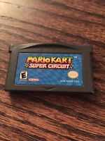 Mario Kart Super Circuit (Nintendo Game Boy Advance, 2001)- GBA Cart