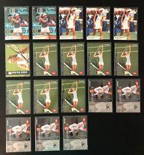 MARTINA HINGIS TENNIS CARD LOT - 18 CARDS