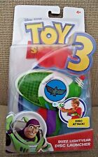 DISNEY PIXAR TOY STORY 3 BUZZ LIGHTYEAR DISC LAUNCHER