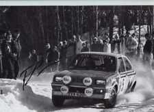 Pentti Airikkala Vauxhall Chevette 2300 Hs Suecia Rally 1979 Firmado fotografía 2