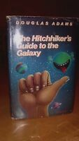 Adams, Douglas HITCHHIKER'S GUIDE TO THE GALAXY BOOK CLUB HARMONY BOOKS HC 1980