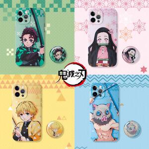 Japan Anime Demon Slayer Kamado Nezuko Tanjirou Phone Case Cover Skin For iPhone