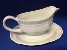 MIKASA China FRENCH COUNTRYSIDE  Gravy Boat and Under plate
