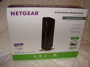 NETGEAR DGN1000 N150 Wireless Modem Router ADSL2+