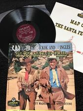 Wild Bill Hickok And Jingles On The Santa Fe Trail Vinyl LP 4 Page Booklet (1956