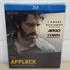 3 FILM COLLECTION - BEN AFFLECK - GONE GIRL - ARGO - THE TOWN - 3 BLU-RAY