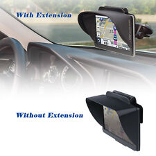 GPS Navigation Sun Shade Visor Plus Flexible Visor Extension Piece