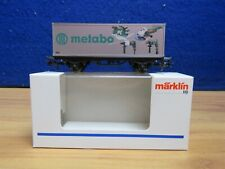 MARKLIN HO 94063 METABO' CONTAINER LIMITED EDITION WAGON GH441