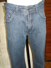 Pantalon jeans droit bleu stretch MISE AU GREEN 38 w28 17VH40