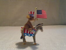 Charming Tails You've Got My Vote 89/1792 4th of July USA Patriotic Mouse NIB