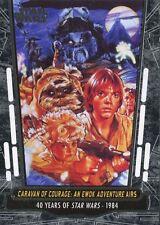 Star Wars 40th Anniversary Base Card #68 Caravan of Courage: An Ewok Adventur