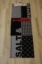 cuisine COUREUR mat Cardea ASTRA 16 SALT & Pepper Design 50x150 cm Lavable