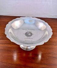 G H FRENCH STERLING SILVER COMPOTE SAILING SEASON CHAMPS CORINTHIAN YACHT CLUB