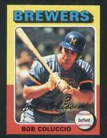 1975 Topps #456 Bob Coluccio NM/NM+ Brewers 67846