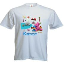 Pocoyo Friends Beach Custom T Shirt Party Favor Birthday Gift Personalized Name