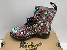 Dr Martens 1460 - Girls Women's Wild Poppy Boots / Size UK 3 - EU 36 - 5 US