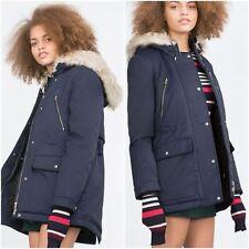 Zara Casual Zip Nylon Coats & Jackets for Women