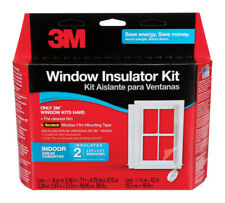 3M  Clear  Indoor  Window Film Insulator Kit  62 in. W x 84 in. L