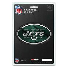 New York Jets Die Cut 3D Logo Decal [NEW] NFL Car Sticker Emblem Truck