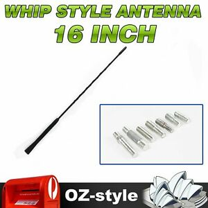 "41cm/16"" Antenna Compatible For Holden FUBA Whip Style Mast AM FM Radio Signal"