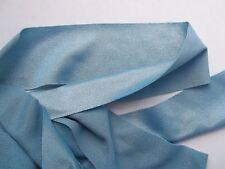 Nylon Lycra Spandex BINDING 1-1/2 Pastel BLUE Aqua 5 yds Tape Straight Cut