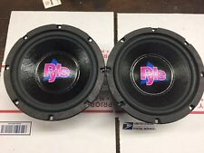 "*Matched Pair* Pyle 8"" Woofers 8 Ohms  Huge Magnets!"