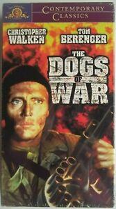 VHS Movie~The Dogs of War~Tom Berenger &Christopher Walken~New/Sealed