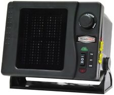 Portable Electric Heater 12 Volt 300 Watt Adjustable Fan Vehicle RV Car Swivel