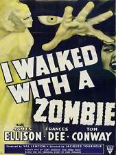 ADVERT CULTURAL MOVIE FILM ZOMBIE HORROR RKO RADIO USA AMERICA PRINT BB4640B